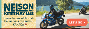 Nelson Kootenay Lake by Motorcycle