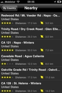 Android App Motorcycle Routes Screenshot 7