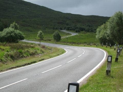 a87--invergarry-- Route Photo