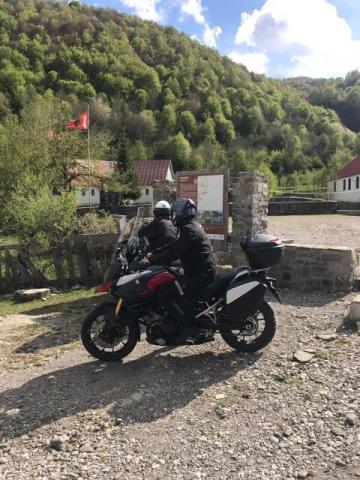 north-albania--peja- Route Photo